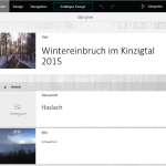 Microsoft Sway – Online Präsentationen