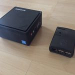 Umzug vom RaspberryPI2 auf ein Gigabyte Brix 3350 - Vergleich am Beispiel der weewx Wetterstation - Datenbankgröße nach genau 2 Jahren