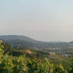 Sonnenuntergang und Sonnenaufgang mit Gewitter über der Rheinebene – eine Nacht am Hohen Horn
